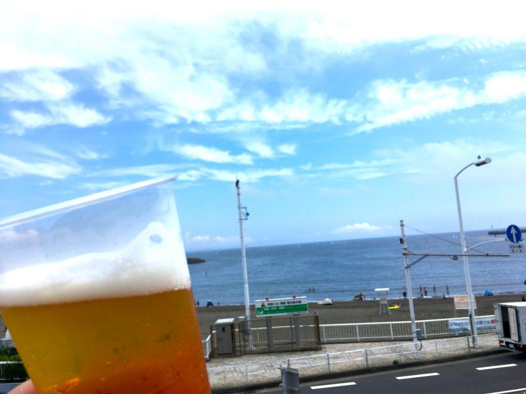江ノ島でバーベキュー