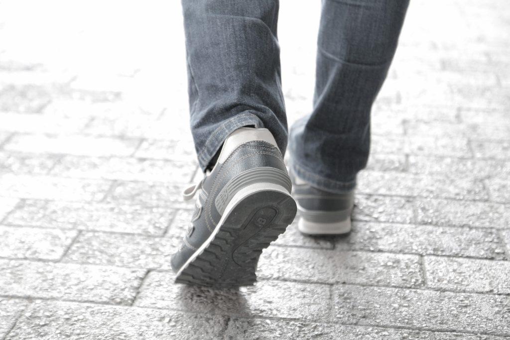 散歩する、身体を動かす