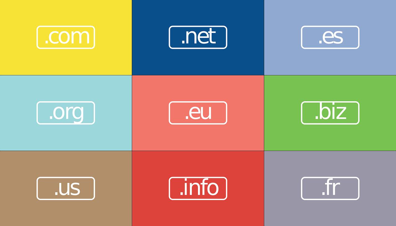 独自ドメインは、「.com」また「.net」から選ぼう