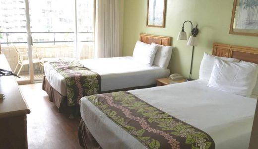 1歳児とハワイ!「ワイキキ・サンドビラ・ホテル」宿泊体験記録