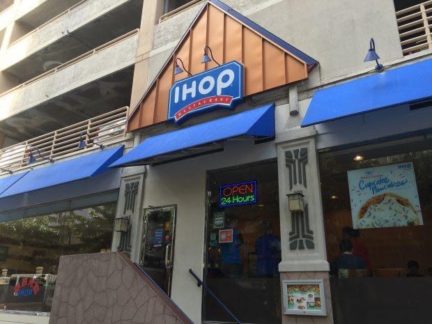 「IHOP」でパンケーキ