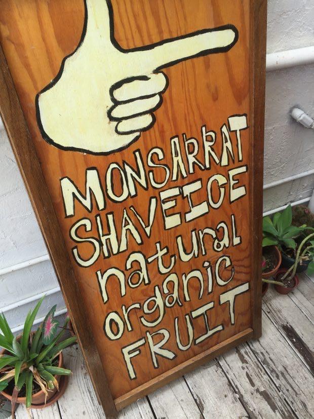 隣のお店「Monsarrat Shave Ice」でかき氷