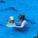 夏はプール!3歳息子、泳ぎをがんばってます!