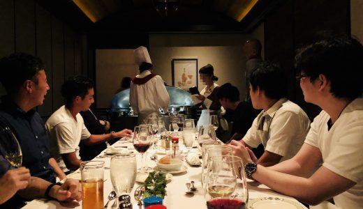 【恵比寿で食事会】ローストビーフと仲間とビジネス!