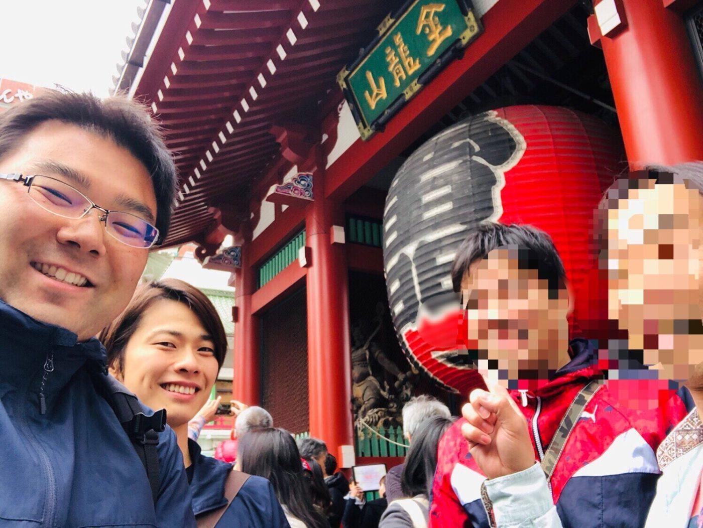 アフィリエイト仲間と上野で作業会、浅草でみんな「招き猫」を購入!?