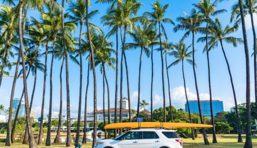 【ハワイでUberデビュー】感動した!便利な車移動サービスを5回使用した感想