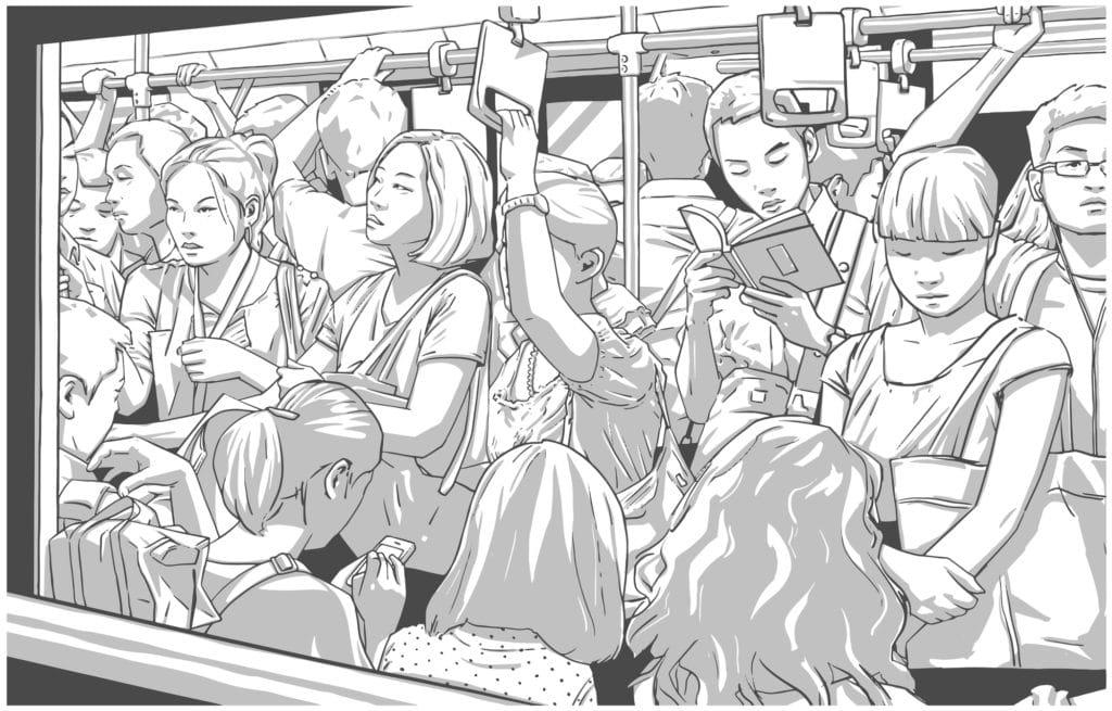 通勤電車で苦痛を感じ続ける人生、実はもったいない